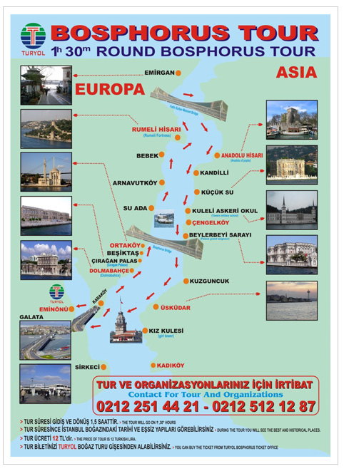 Turyol Bosphorus Tour